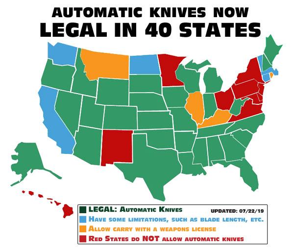 OTF Automatic Knives