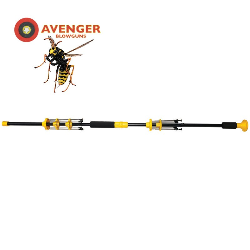 Watch Out or You'll Get STUNG! - WASP Blowgun
