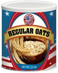 Regular Oats - #10 Can