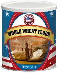 Whole Wheat Flour - #10 Can