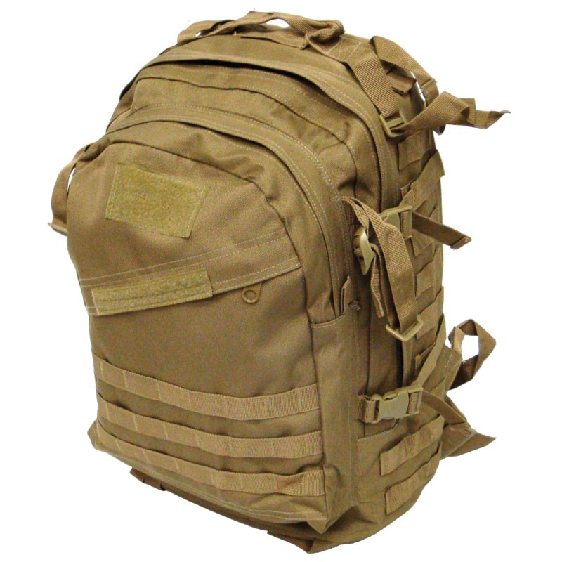 3 Day MOLLE Assault Backpack - Coyote 4f37a1fa5a5