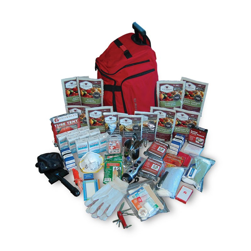 2 Week Deluxe Survival Backpack 27 lbs 20x16x10
