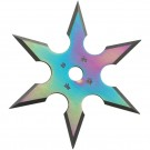 "4"" Pro Rainbow Titanum Coated Star"