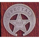 Special Police: (Cut Out Star In Circle)