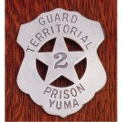 Guard-Territorial Prison Yuma: (Shield With Cut Out Star)