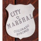 City Marshal Colorado Springs: (Shield)