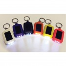 Solar Keychain- 12 Pack Assorted Colors
