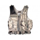 Deluxe Quick Draw Tactical Vest - Digital Camo