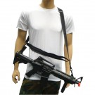 Three Point Rifle Sling - Black