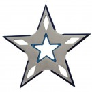 5 Point Throwing Star - Blue