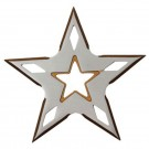 5 Point Throwing Star Gold