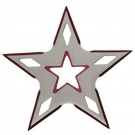 5 Point Throwing Star - Red
