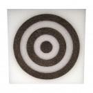 Square Target - White