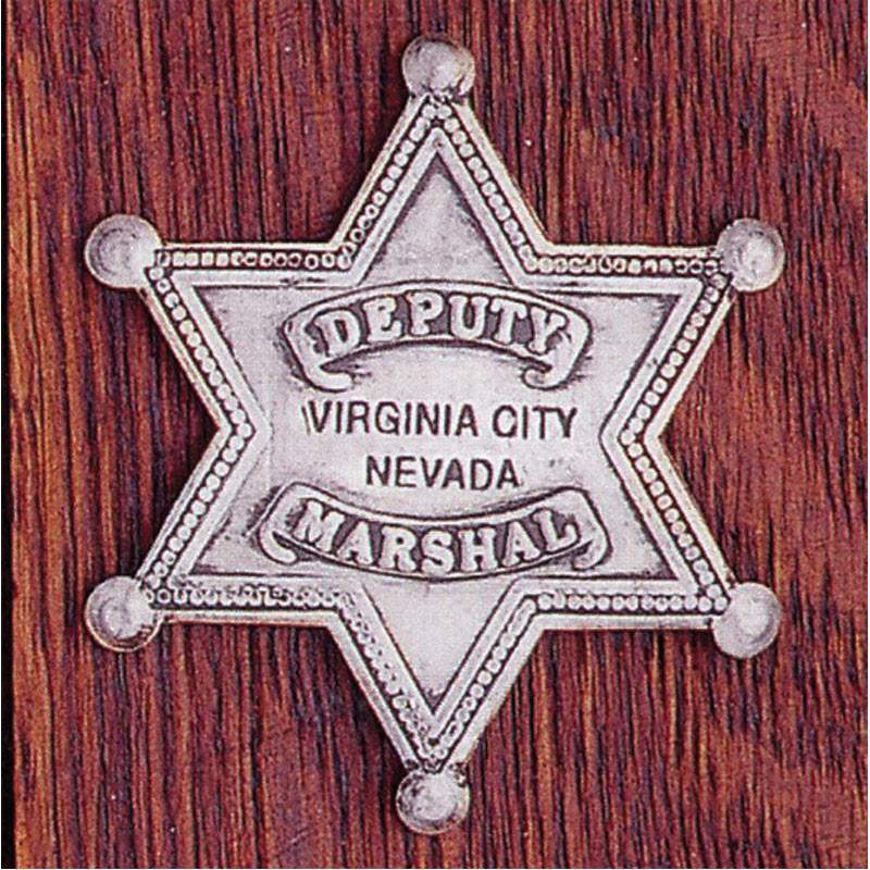 Deputy Marshall Virginia City Nevada: (6 Point Star)