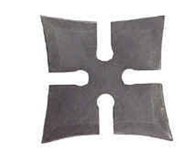 """4 Point 4"""" Throwing Star - Black"""