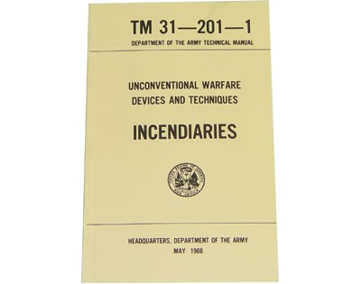 Incendiaries - Dept. of the Army Technical Manual