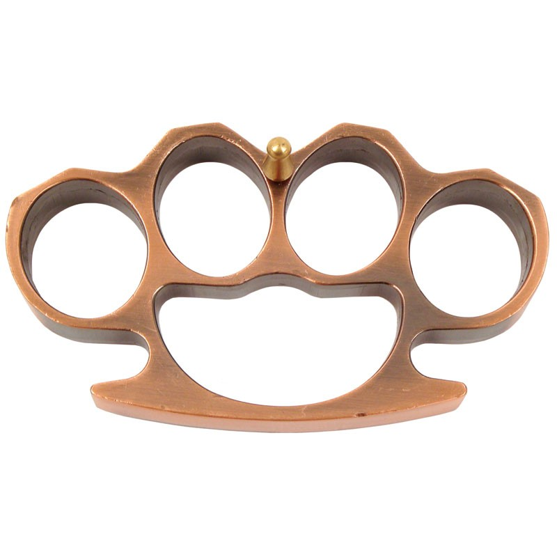 """1/2"""" Thick Belt Buckle - Copper"""