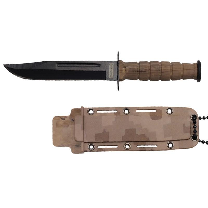 Desert Camo Neck Knife