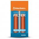 WaterBasics Emergency Straw Filter 2 pack