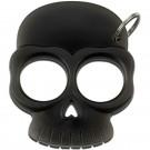 Glow In Dark Black Plastic Skull