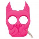 Brutus Bull Dog Self Defense Keychain - HOT Pink