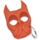 Brutus Bull Dog Self Defense Keychain Orange