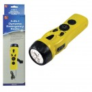 4-in-1 LED Flashlight with Cell Phone Charger