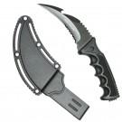 """Hunt-Down 8.5"""" Black Karambit Knife"""