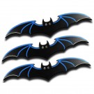 "6"" Bat Thowing Knives - Set of 3 - Blue"
