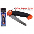 Mini Pruning Saw with Safety Release Button