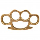 Brass Knuckle Paper Weight - SOLID BRASS
