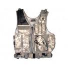 XXL Deluxe Quick Draw Tactical Vest - Digital Camo