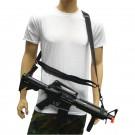 Three Point Rifle Sling - Black