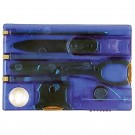 Swiss Card Multi-Task Wallet Tool - Blue