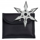 """4"""" Silver Throwing Star"""