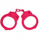UZI Double Locking Handcuffs - Pink