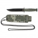 Digital Camo Neck Knife