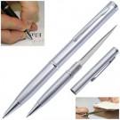 Single Pen Style Knife- Silver